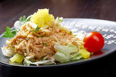 Japan salad with smoked chicken — Foto de Stock