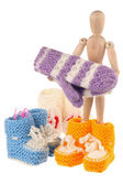 Baby knitwear — Stock Photo