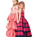 Two beautiful little girls — Stock Photo