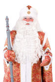 Russian Christmas character Ded Moroz (Father Frost) — Stock Photo