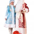 Russian Christmas characters. Isolated — Stock Photo