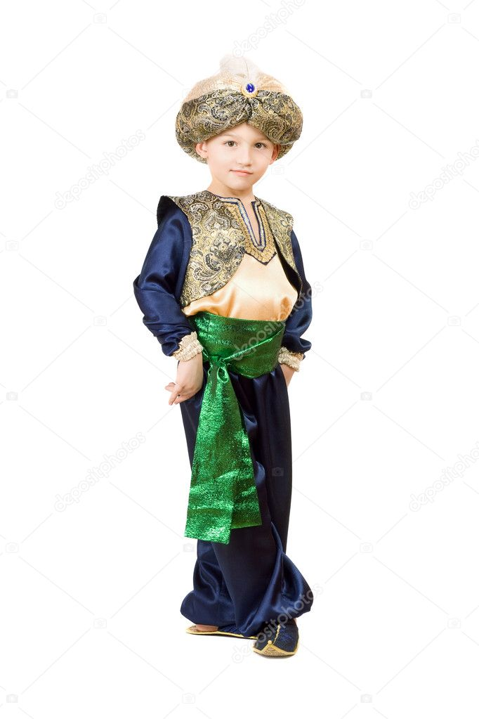 Костюм восточный для мальчика своими руками