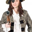 Man dressed as pirate — Stock Photo