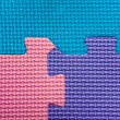 Texture varicoloured  puzzles - Stock Photo