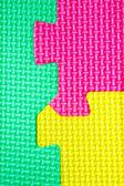 Texture varicoloured puzzles — Stockfoto