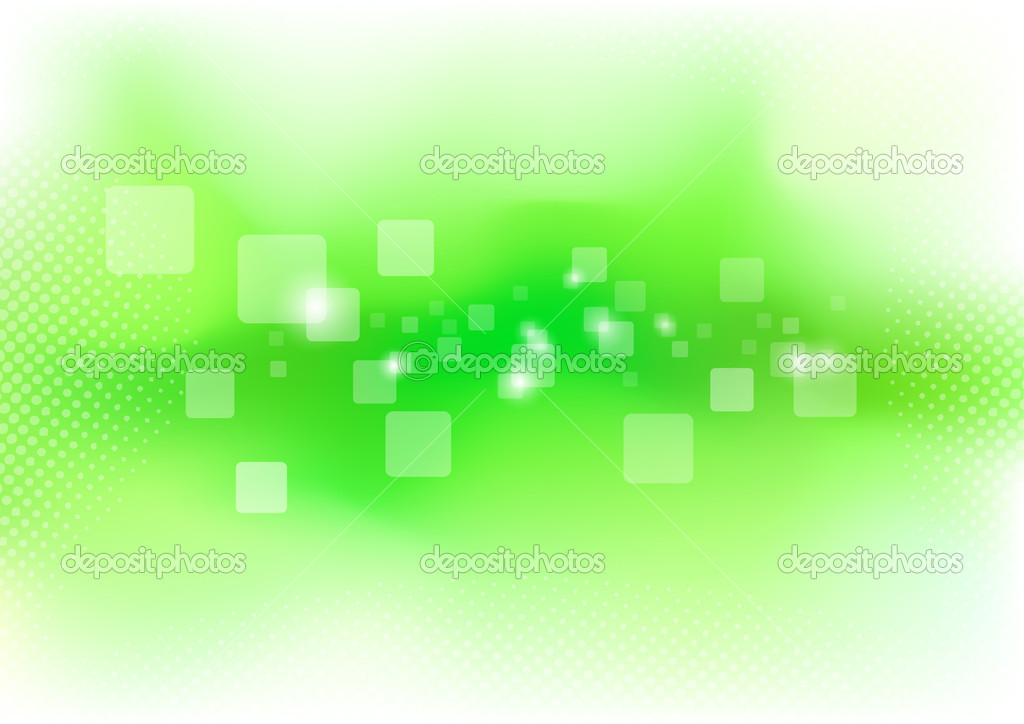 Green clean background - purity. Vector illustration  Stock Vector #9369306