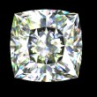 Diamond . Gemstone - Stock Photo
