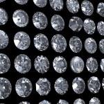 Collection of diamond. Gemstone — Stock Photo #9255370