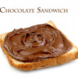 Chocolate sandwich — Stock Photo #8992367