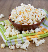 Tasty popcorn — Stock Photo