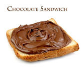 Chocolate sandwich — Stock Photo