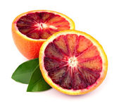 Ripe red orange — Stock Photo