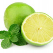 Sweet and juice citrus with mint — Stock Photo #9350752