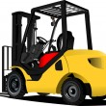 Lift truck. Forklift. Vector illustration — Stock Vector #8976796