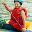 Rafting on raft — Stock Photo #10519278
