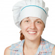 Portrait of female cook — Stock Photo #10519981