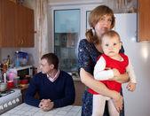 Family quarrel — Stock Photo