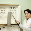 Ophthalmologist — Stock Photo