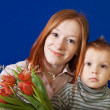 Mother with her son — Stock Photo #10528470
