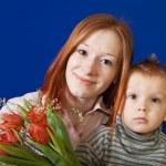 Anne ile oğlu — Stok fotoğraf #10528470