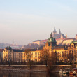 Prague from Vltava. Czech Republic — Stockfoto #10530605