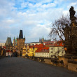 Day view of  Charles bridge — Stock Photo