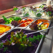 Vegetables in buffet — Stockfoto