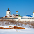 Vasiliev monastery at Suzdal in winter — Stock Photo