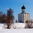 Church of the Intercession on the River Nerl — Stock Photo #10530835