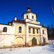 Church at Vyazniki in winter. Russia — Stock Photo