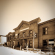 Wild west town — Stock Photo
