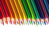 Fronteira de lápis — Foto Stock