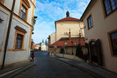 Street in Old Town — Stock Photo