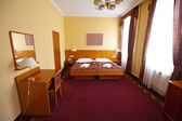 Bedroom of luxury hotel suite — Stock Photo