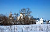 Pokrovsky monastery at Suzdal — Stock Photo