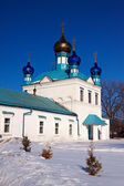 Church at Gorokhovets in winter. Russia — Stock Photo