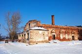 Abandoned church in Rizopolozhensky monastery — Stock Photo