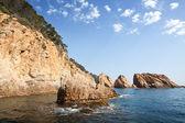 Krajobraz costa brava — Zdjęcie stockowe