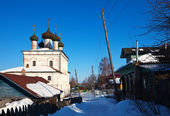 View of Gorokhovets in winter. Russia — Stock Photo