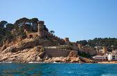 Fort vella vila à tossa de mar — Photo