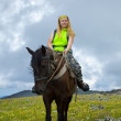 Horseback riding — Stock Photo #8095504
