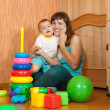 Happy mother with daughter — Stock Photo #8139535