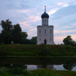 Church of   Intercession on the River Nerl - Stock Photo