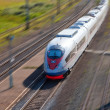 Stock Photo: High-speed passenger train