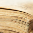 Old book. Shallow DOF - Stock Photo