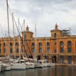 Yachts in Dockyard Creek of Senglea — Stock Photo #8142919