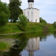 Church of the Intercession on River Nerl - Stockfoto