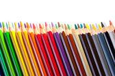 Copyspase と鉛筆からのボーダー — ストック写真