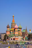 Intercession Cathedral at Moscow, Russia — Stock Photo