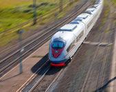 High-speed passenger train — Stock Photo
